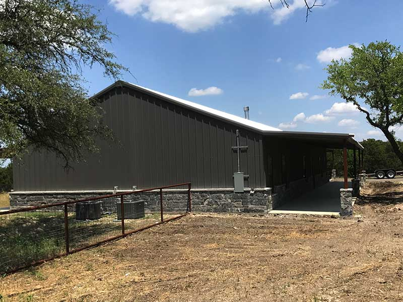 Residential Steel House In Florence Texas