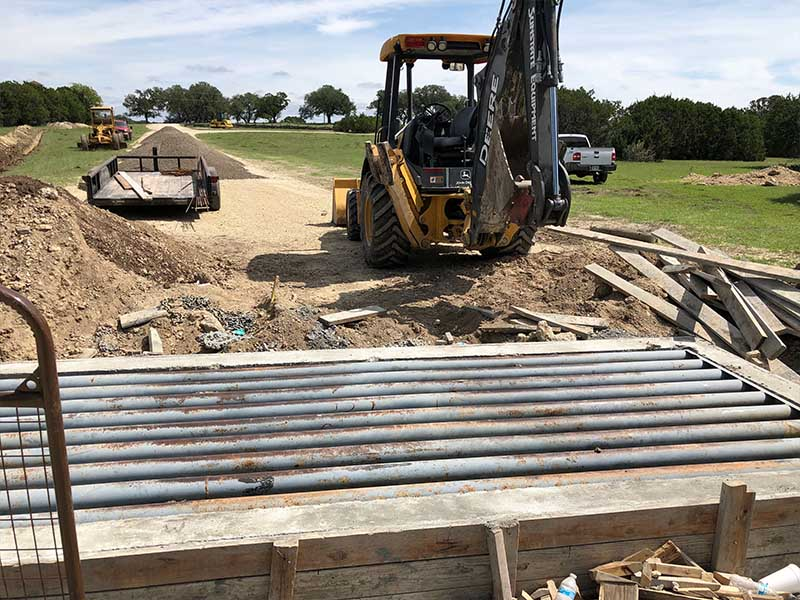 cattle guard install texas 2